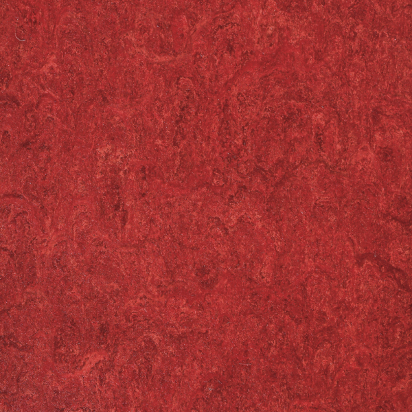 Marmorette PUR lobster red