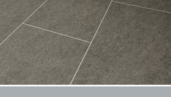 Project Floors Fugenprofil | silber