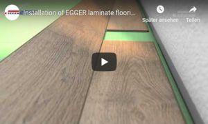 Egger Laminat flooring