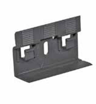 Clipholder-Befestigungssystem für Dekor-Sockelleisten
