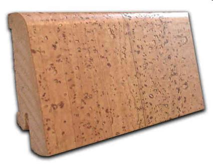 Holzleiste Korkummantelt, gerade Form, Schiffsboden
